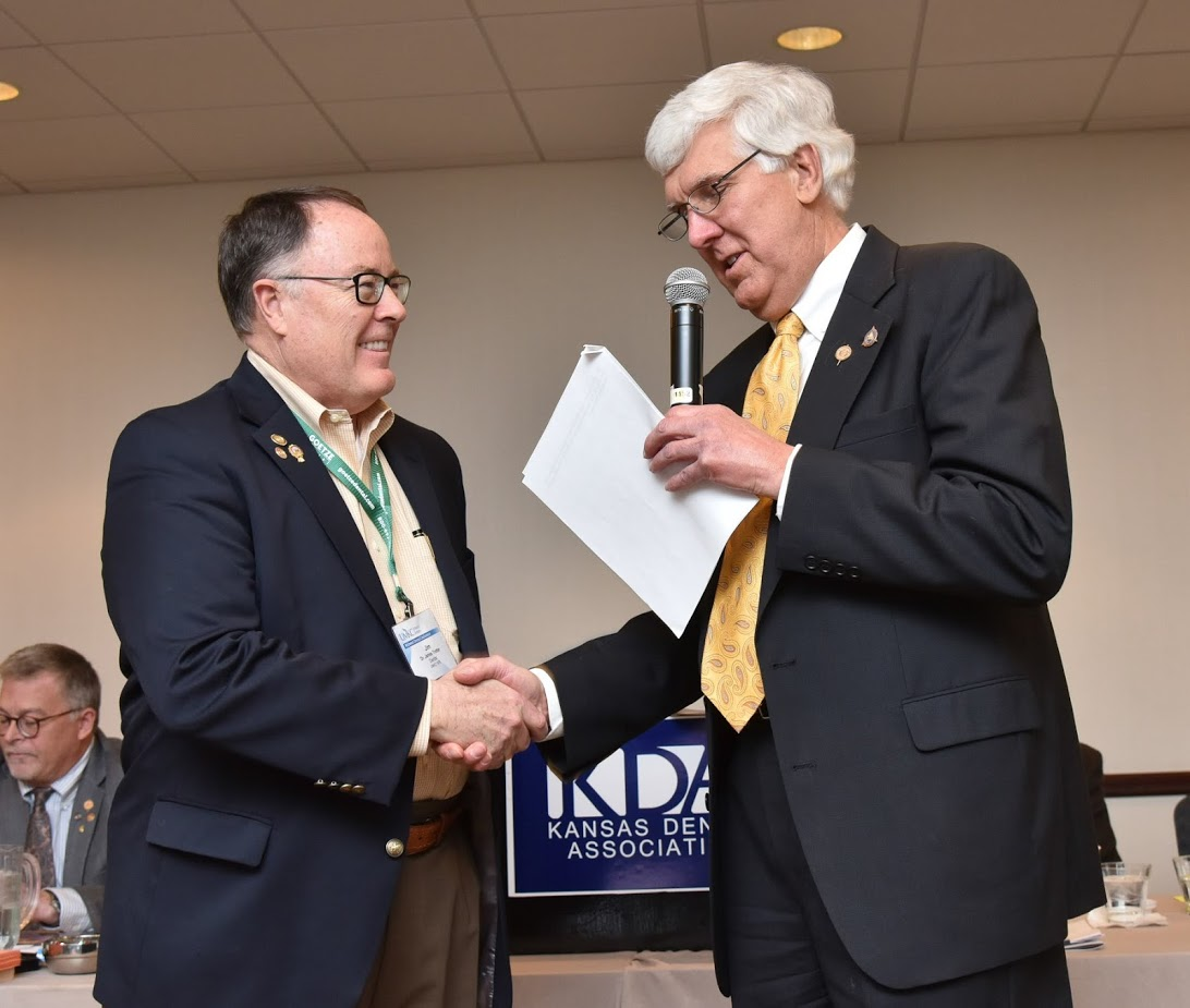 Dr. Jim Trotter and Dr. Nick Rogers - Klenda Award