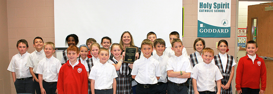 Holy Spirit Catholic School Third Grade Class